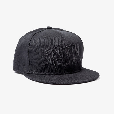 Eighteen Visions - Logo Snapback Hat (Black Logo) | Merch Connection - Metal, hardcore, punk, pop punk, rock, indie, and alternative band merchandise