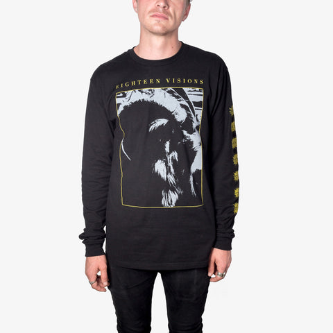 Eighteen Visions - The Horns Longsleeve | Merch Connection - Metal, hardcore, punk, pop punk, rock, indie, and alternative band merchandise