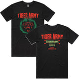Tiger Army - Octoberflame X Event Shirt | Merch Connection - Metal, hardcore, punk, pop punk, rock, indie, and alternative band merchandise
