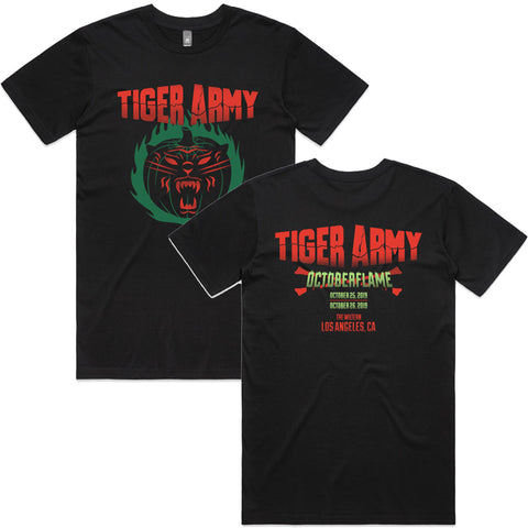 Tiger Army - Octoberflame X Event Shirt