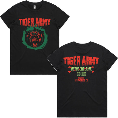 Tiger Army - Octoberflame X Event Women's Shirt