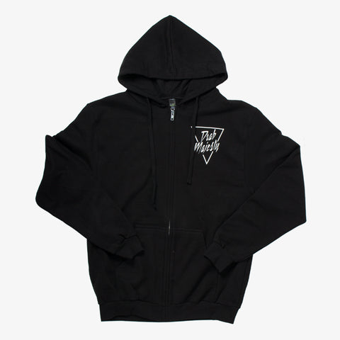 Drab Majesty - Fan Eyes Zip-Up | Merch Connection - Metal, hardcore, punk, pop punk, rock, indie, and alternative band merchandise