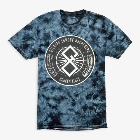 Giraffe Tongue Orchestra - Symbol Shirt (Tie Dye) | Merch Connection - Metal, hardcore, punk, pop punk, rock, indie, and alternative band merchandise