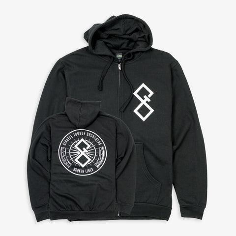 Giraffe Tongue Orchestra - Symbol Zip-Up | Merch Connection - Metal, hardcore, punk, pop punk, rock, indie, and alternative band merchandise