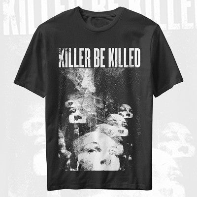 Killer Be Killed - Faces Shirt | Merch Connection - Metal, hardcore, punk, pop punk, rock, indie, and alternative band merchandise