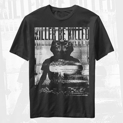 Killer Be Killed - Mirrored Shirt | Merch Connection - Metal, hardcore, punk, pop punk, rock, indie, and alternative band merchandise