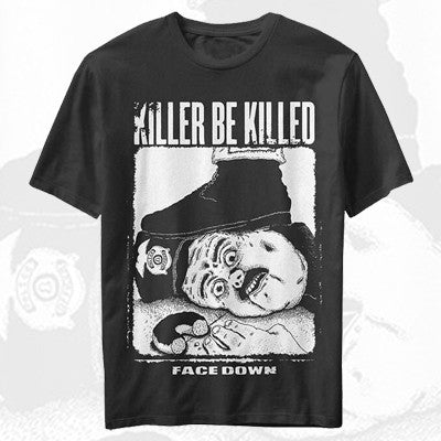Killer Be Killed - Face Down Shirt | Merch Connection - Metal, hardcore, punk, pop punk, rock, indie, and alternative band merchandise
