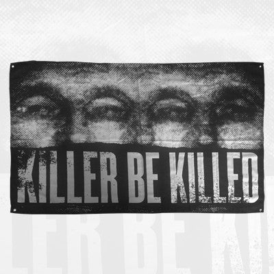 "Killer Be Killed - Killer Be Killed - 42"" x 60"" Wall Flag - 2"