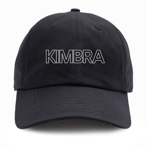 Kimbra - Logo Dad Hat (Black) | Merch Connection - Metal, hardcore, punk, pop punk, rock, indie, and alternative band merchandise