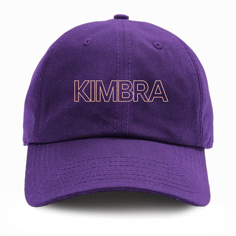 Kimbra - Logo Dad Hat (Purple) | Merch Connection - Metal, hardcore, punk, pop punk, rock, indie, and alternative band merchandise