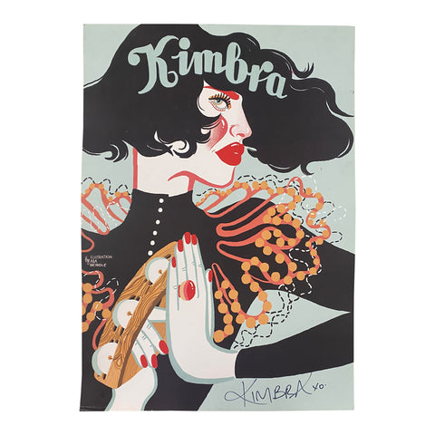 Kimbra - 18x24 Autographed Poster
