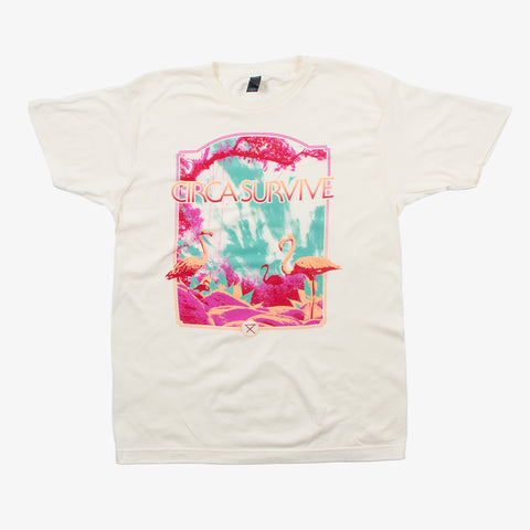 Circa Survive - Flamingo Shirt | Merch Connection - Metal, hardcore, punk, pop punk, rock, indie, and alternative band merchandise