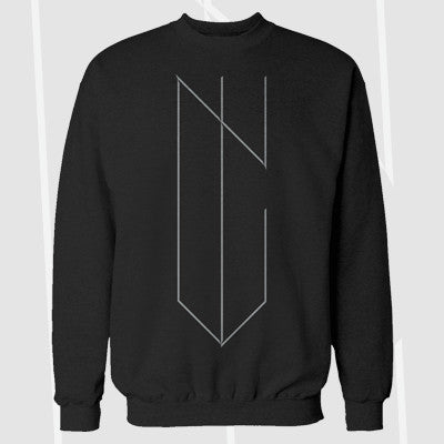 NYVES - Logo Crewneck | Merch Connection - Metal, hardcore, punk, pop punk, rock, indie, and alternative band merchandise