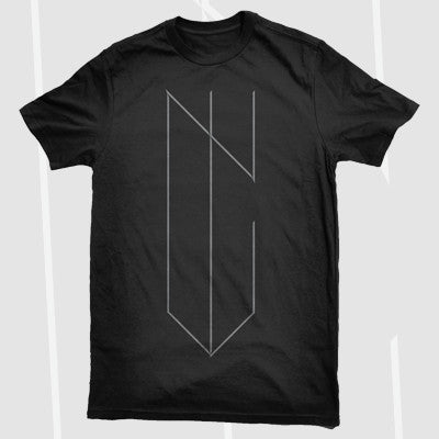 NYVES - Logo Shirt | Merch Connection - Metal, hardcore, punk, pop punk, rock, indie, and alternative band merchandise