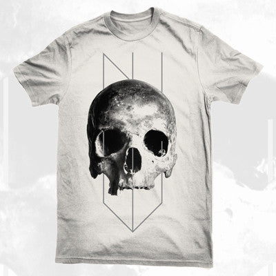 NYVES - Skull Shirt | Merch Connection - Metal, hardcore, punk, pop punk, rock, indie, and alternative band merchandise
