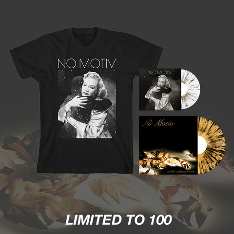 "No Motiv - And the Sadness Prevails Vinyl LP + Bonus Vinyl 7"" + T-Shirt"