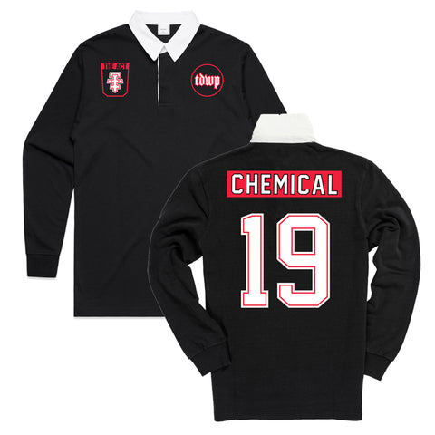 The Devil Wears Prada - Chemical Rugby Jersey | Merch Connection - Metal, hardcore, punk, pop punk, rock, indie, and alternative band merchandise