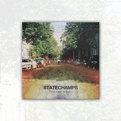 State Champs - Finer Things CD | Merch Connection - Metal, hardcore, punk, pop punk, rock, indie, and alternative band merchandise