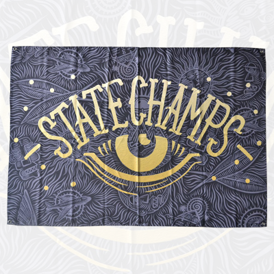 State Champs - State Champs - Eye Wall Flag - 2
