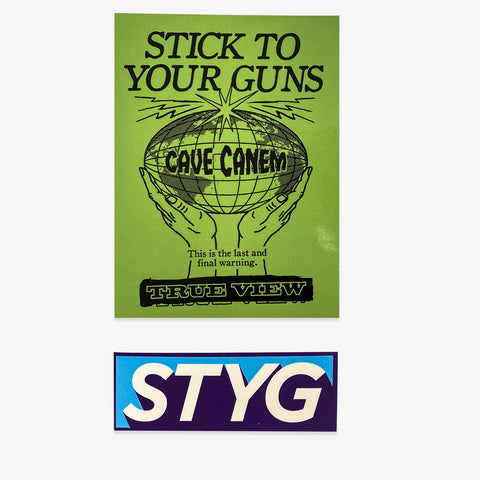 Stick to Your Guns - Sticker Bundle | Merch Connection - Metal, hardcore, punk, pop punk, rock, indie, and alternative band merchandise