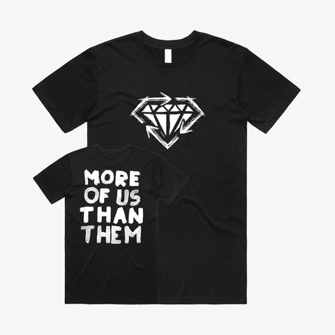 Stick To Your Guns - More of Us Shirt | Merch Connection - Metal, hardcore, punk, pop punk, rock, indie, and alternative band merchandise