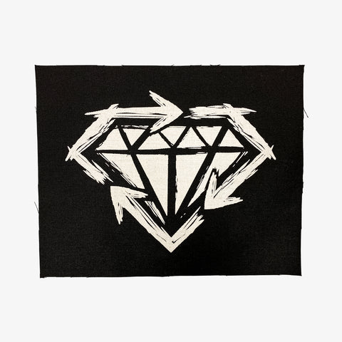 Stick to Your Guns - Diamond Back Patch | Merch Connection - Metal, hardcore, punk, pop punk, rock, indie, and alternative band merchandise