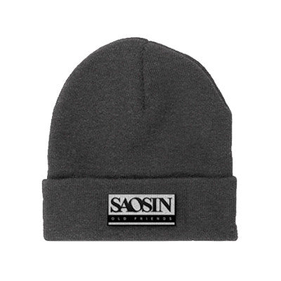 Saosin - Old Friends Beanie | Merch Connection - Metal, hardcore, punk, pop punk, rock, indie, and alternative band merchandise