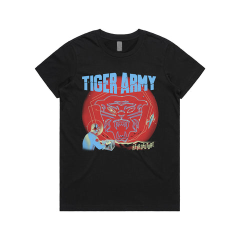 Tiger Army - Constellation Women's Shirt | Merch Connection - Metal, hardcore, punk, pop punk, rock, indie, and alternative band merchandise