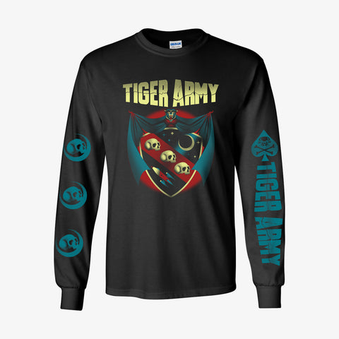 Tiger Army - Crest Longsleeve