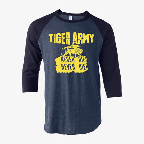 Tiger Army - Double Never Die Raglan
