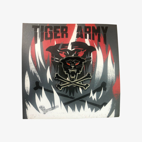 Tiger Army - Limited Enamel Pin (Red)