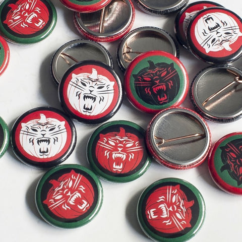 "Tiger Army - Octoberflame 1"" Button Set 