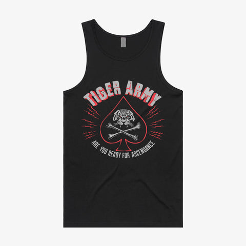 Tiger Army - Death Card Tank Top