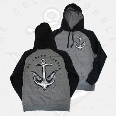 The Color Morale - Anchor Bird Hoodie | Merch Connection - Metal, hardcore, punk, pop punk, rock, indie, and alternative band merchandise