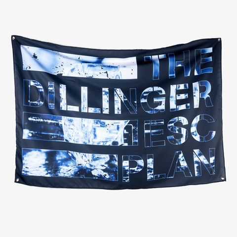 Dillinger Escape Plan - Dissociation Wall Flag | Merch Connection - Metal, hardcore, punk, pop punk, rock, indie, and alternative band merchandise