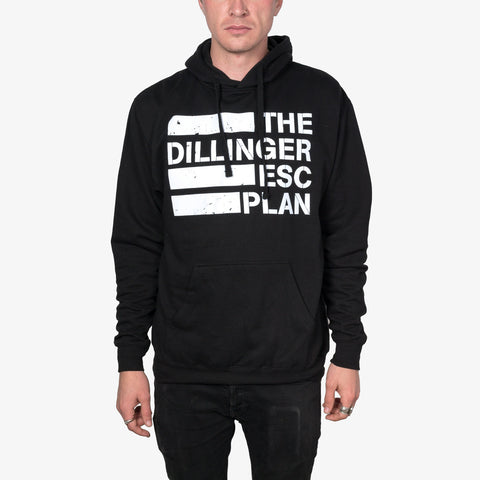 Dillinger Escape Plan - Logo Hoodie (Black) | Merch Connection - Metal, hardcore, punk, pop punk, rock, indie, and alternative band merchandise