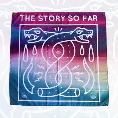 The Story so Far - The Story so Far - Snakes Wall Flag - 2