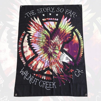 The Story so Far - The Story so Far - Tie Dye Eagle Wall Flag - 2