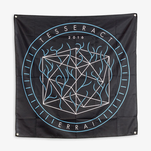 Tesseract - Errai Wall Flag | Merch Connection - Metal, hardcore, punk, pop punk, rock, indie, and alternative band merchandise