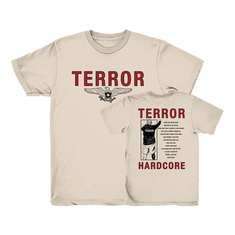 Terror - Deep Roots Shirt | Merch Connection - Metal, hardcore, punk, pop punk, rock, indie, and alternative band merchandise