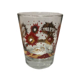 Tiger Army - Retrofuture Mai Tai Glass (Burgundy & Gold)