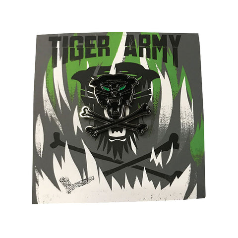 Tiger Army - Limited Enamel Pin | Merch Connection - Metal, hardcore, punk, pop punk, rock, indie, and alternative band merchandise