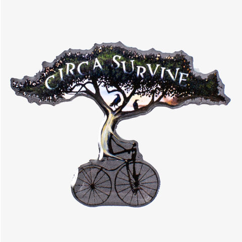 Circa Survive - Bike Pin | Merch Connection - Metal, hardcore, punk, pop punk, rock, indie, and alternative band merchandise
