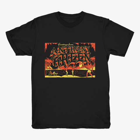 Anthony Green - Hell Beach Shirt | Merch Connection - Metal, hardcore, punk, pop punk, rock, indie, and alternative band merchandise