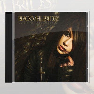Black Veil Brides - We Stitch These Wounds CD | Merch Connection - Metal, hardcore, punk, pop punk, rock, indie, and alternative band merchandise