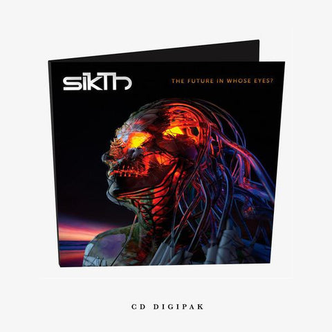 SikTh - The Future In Whose Eyes? Digipak CD | Merch Connection - Metal, hardcore, punk, pop punk, rock, indie, and alternative band merchandise