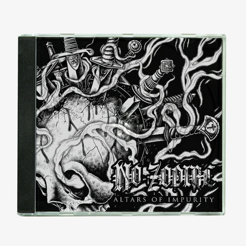 No Zodiac - Altars of Impurity CD | Merch Connection - Metal, hardcore, punk, pop punk, rock, indie, and alternative band merchandise