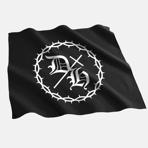 Demon Hunter - DH Bandana | Merch Connection - Metal, hardcore, punk, pop punk, rock, indie, and alternative band merchandise