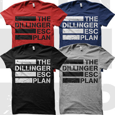 Dillinger Escape Plan - Dillinger Escape Plan - Logo Girly Shirt - 2