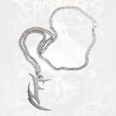 The Faceless - Symbol Necklace | Merch Connection - Metal, hardcore, punk, pop punk, rock, indie, and alternative band merchandise
